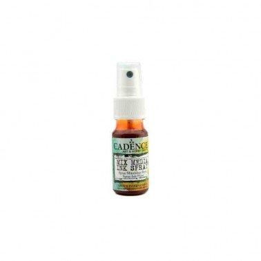 SPRAY Naranja Oscuro MIXMEDIA CADENCE 25 ml.