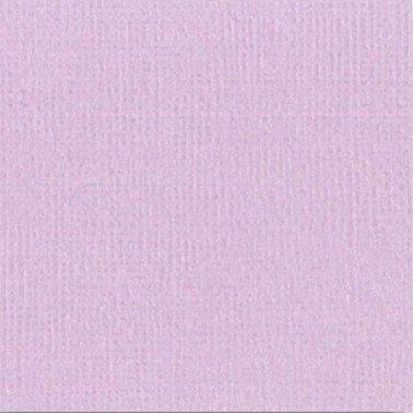 """Cartulina textura lienzo LAVANDA 12x12"""" 216 gr."""