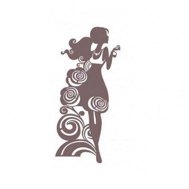 Stencil Shadow CHICA DE MODA CADENCE KS 25 x 30 cm.