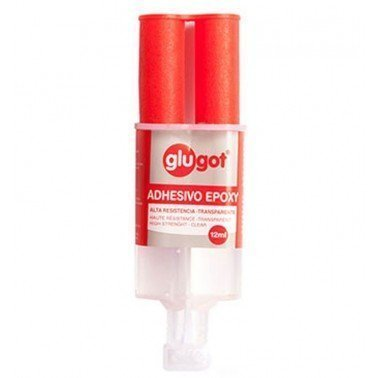 Cola instantánea epoxy 2 componentes 12ml.