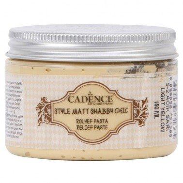 Pasta SHABBY CHIC amarillo Claro Cadence 150 ml.