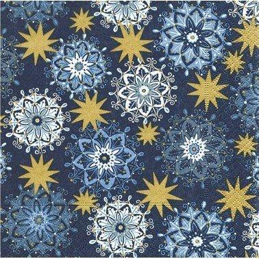 Servilletas para decoupage Filigree stars 33 X 33 cm.