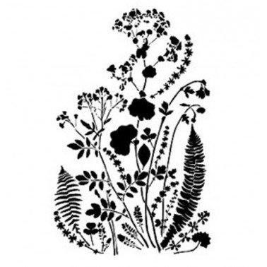 Stencil VEGETAL BN158 Cadence, 25x36.cm.