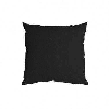 Funda Cojín negra algodón CADENCE 45x45 cm.