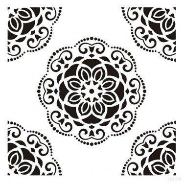 Plantilla Stencil DECO 2 CADENCE 45x45 cm.