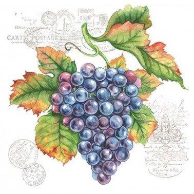 Servilletas para decoupage Grape Vine 33 X 33 cm.
